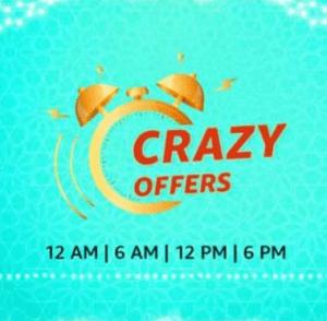 Amazon Crazy Deals Offers Discount 2021